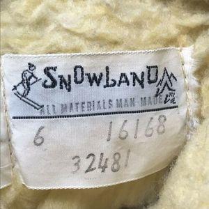 Vintage Shoes - Vtg Snowland Faux Fur Sherpa Lined Mukluk Boots